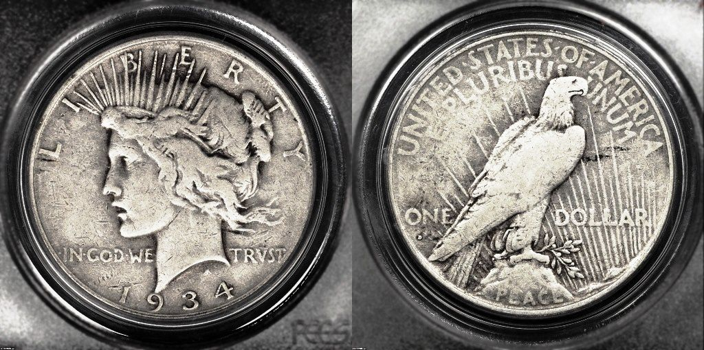 Peace Silver Dollar Values And Prices