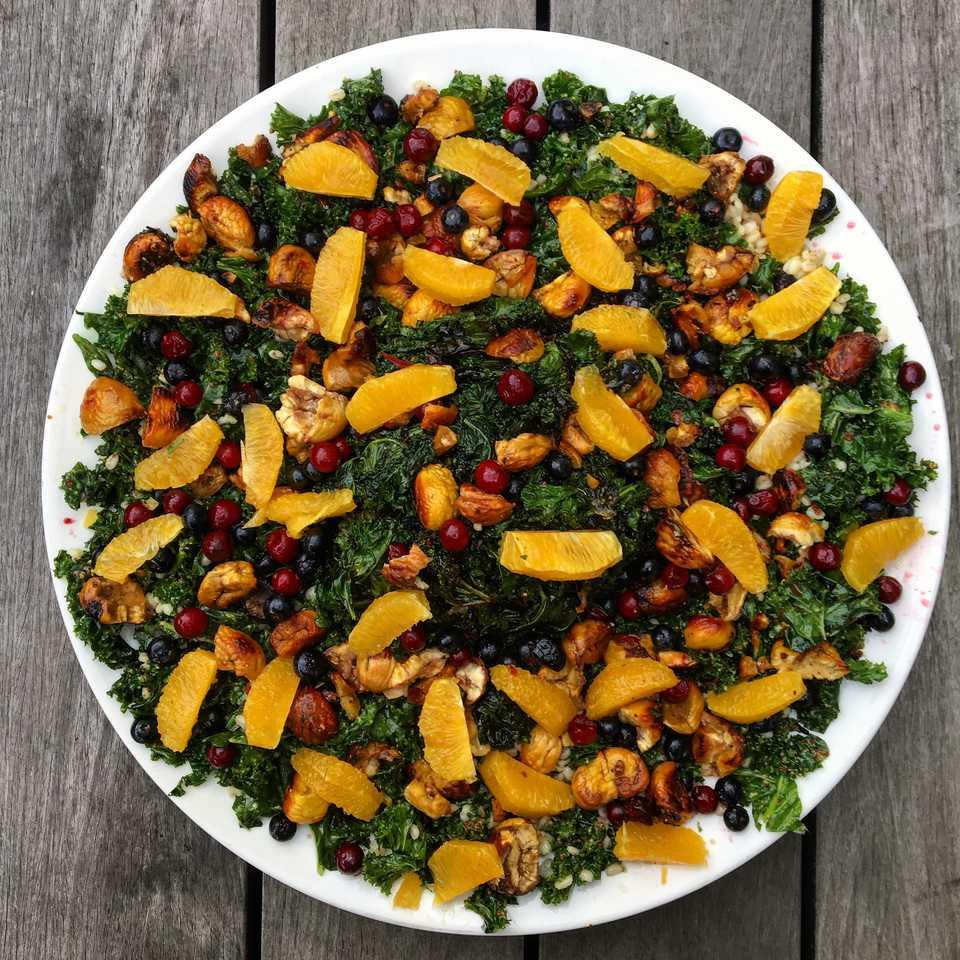 kale and orange salad
