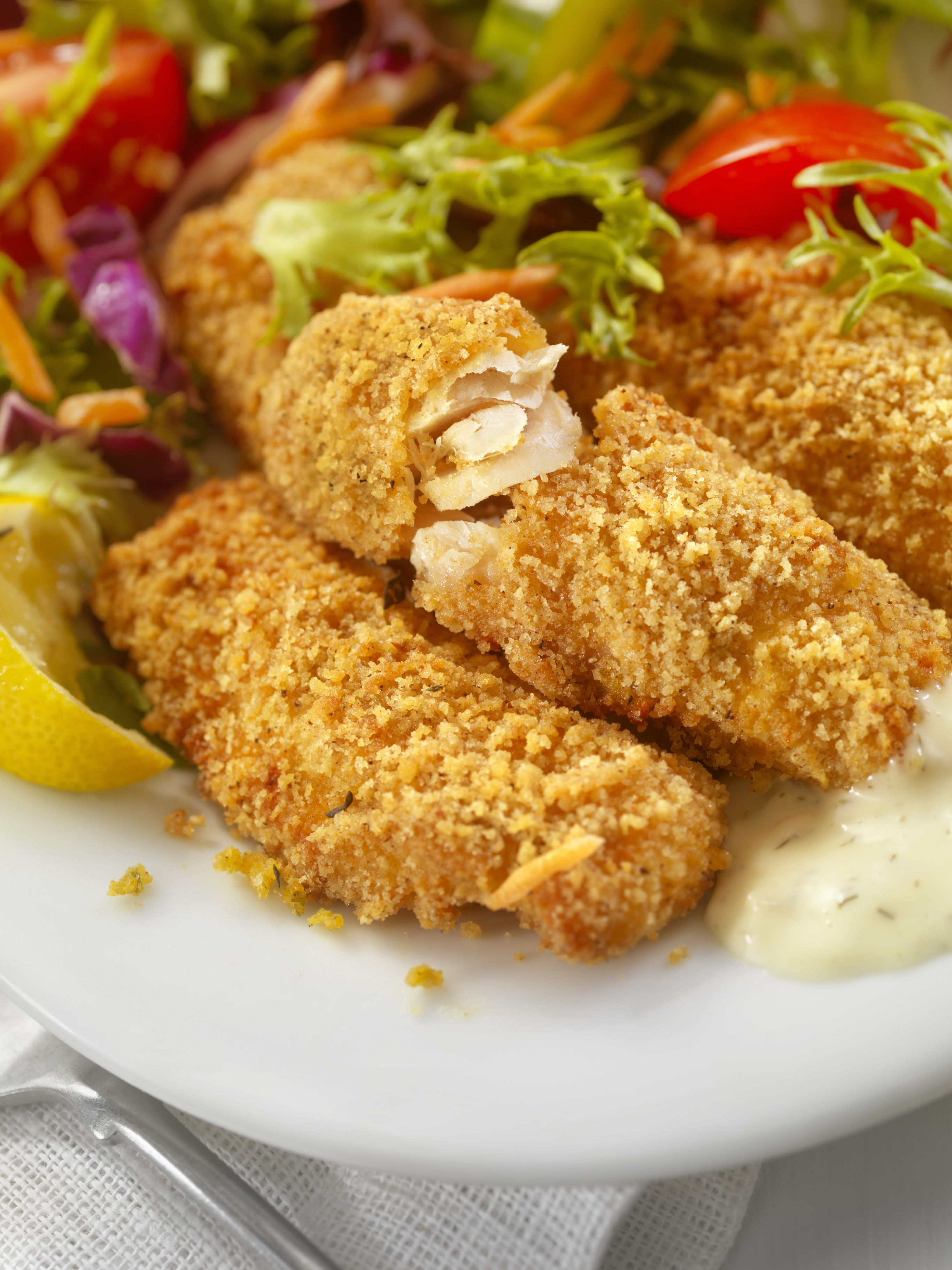 Parmesan baked fish fillet recipe for Breaded pan fried fish