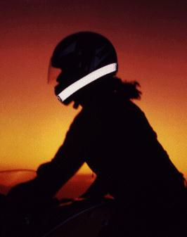 Ways to Increase Visibility While Riding Motorcycles