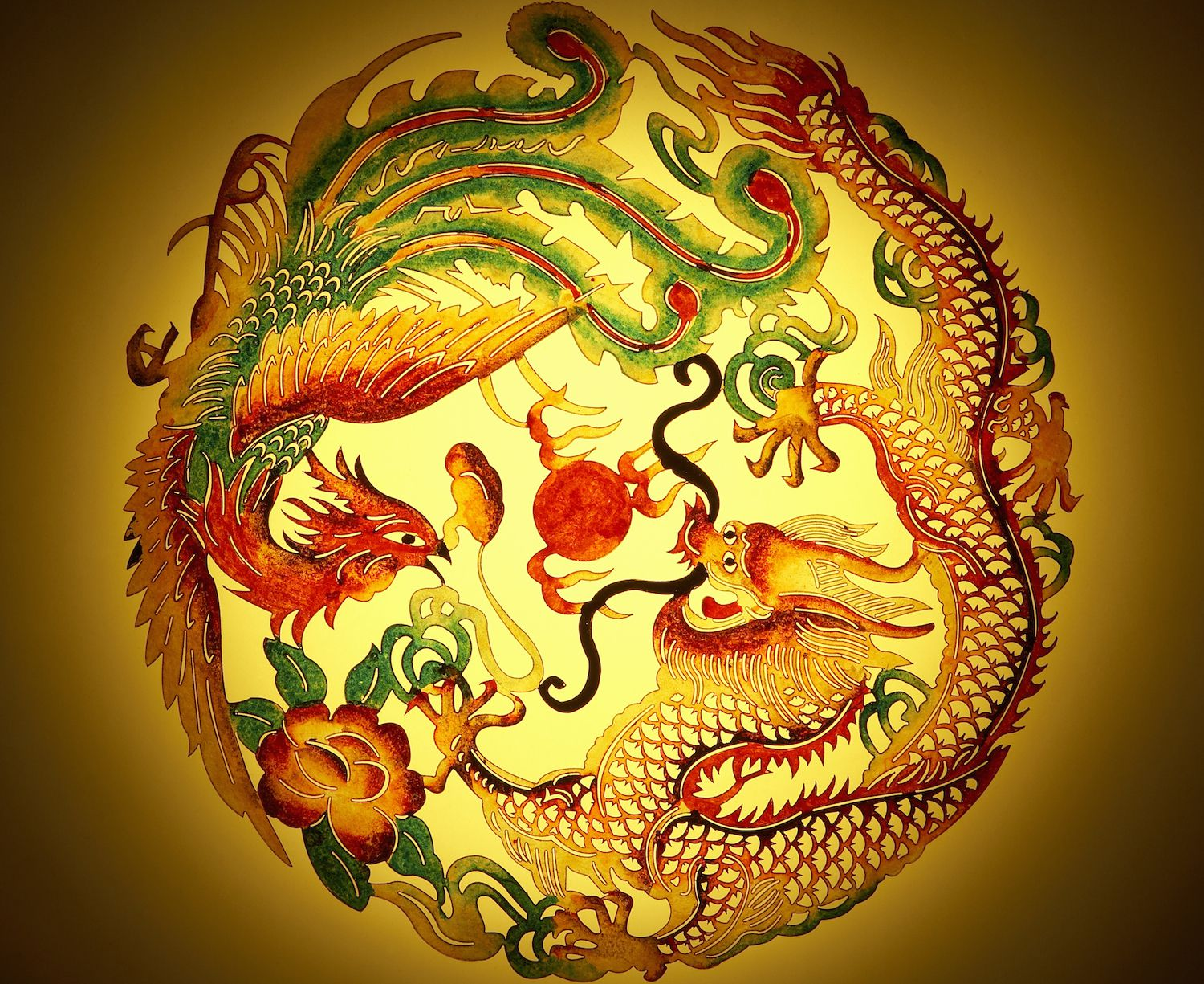 feng shui dragon symbol in your home