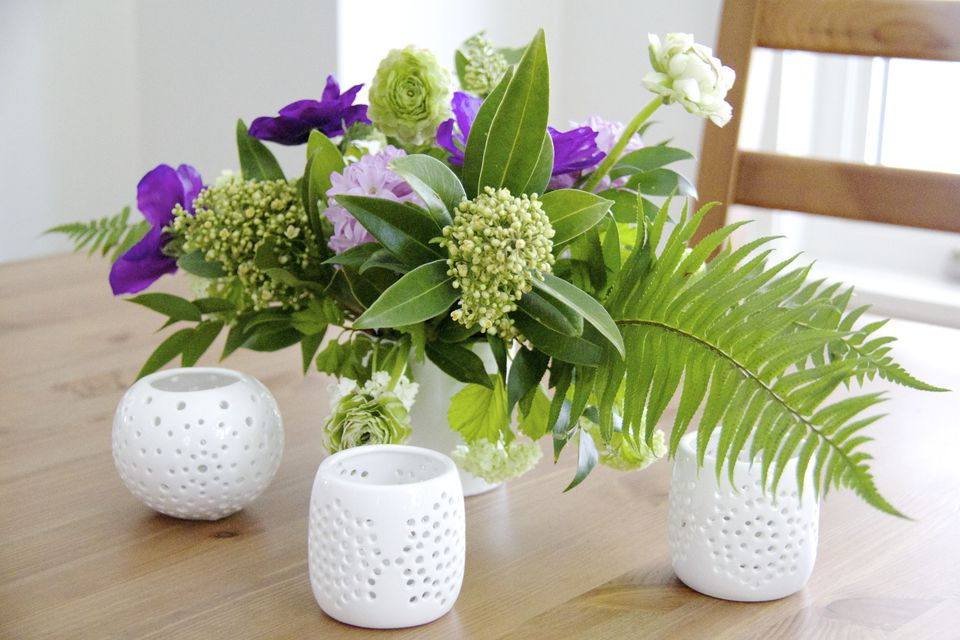 DIY floral arrangmenet