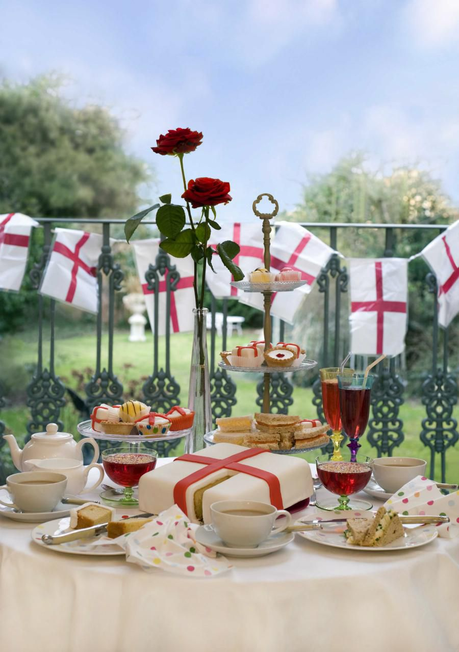 St. George's Day Tea Party