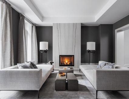 9 Glamorous Living Room Designs