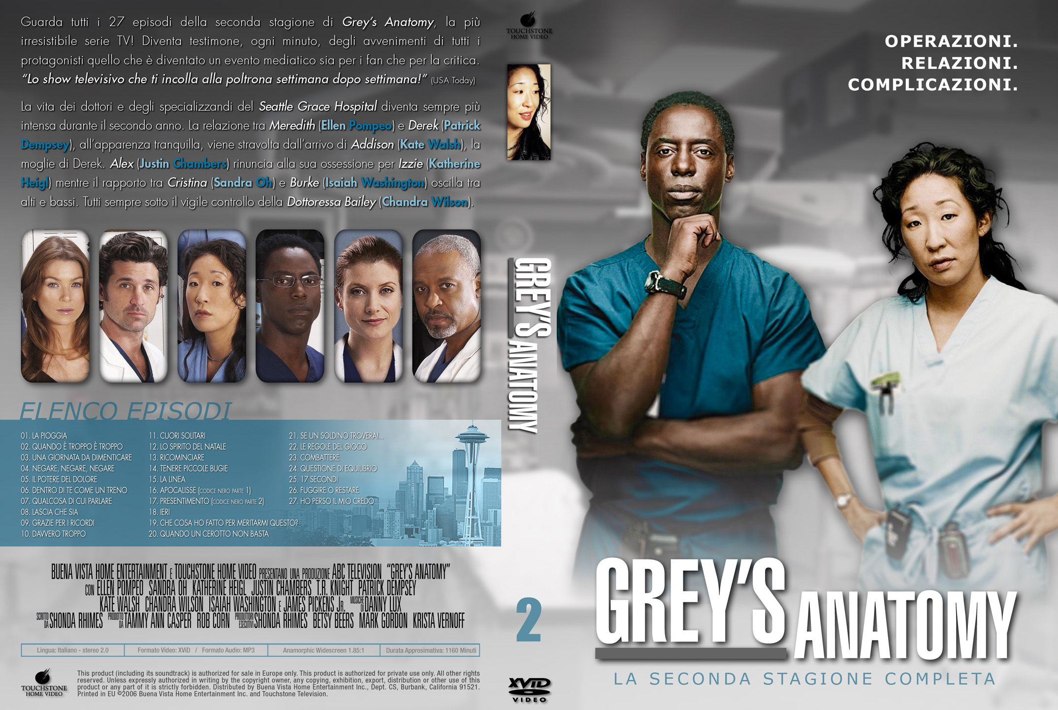 Summary greys anatomy season 1 : Shield seasons 2