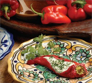 Gypsy Peppers with Cheese