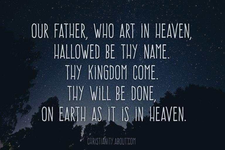 The Lord's Prayer - Luke 11