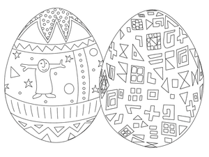 best coloring pages free easter egg coloring pages - Coloring Pages For Free