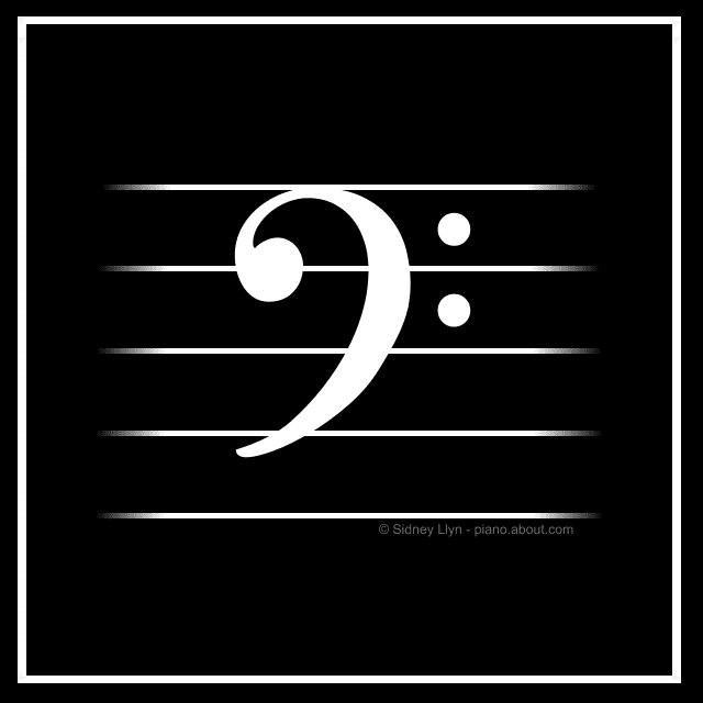 Explanation Of The Bass Clef