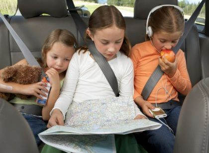 Teaching Kids Math During Road Trips