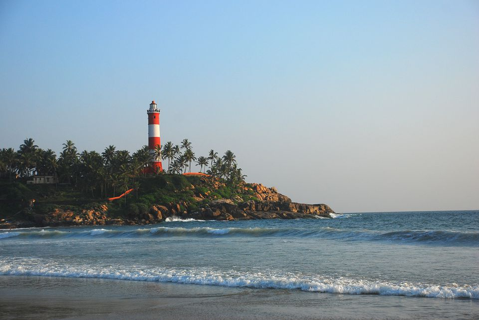 Lighthouse at Kovalam Beach, Kerala