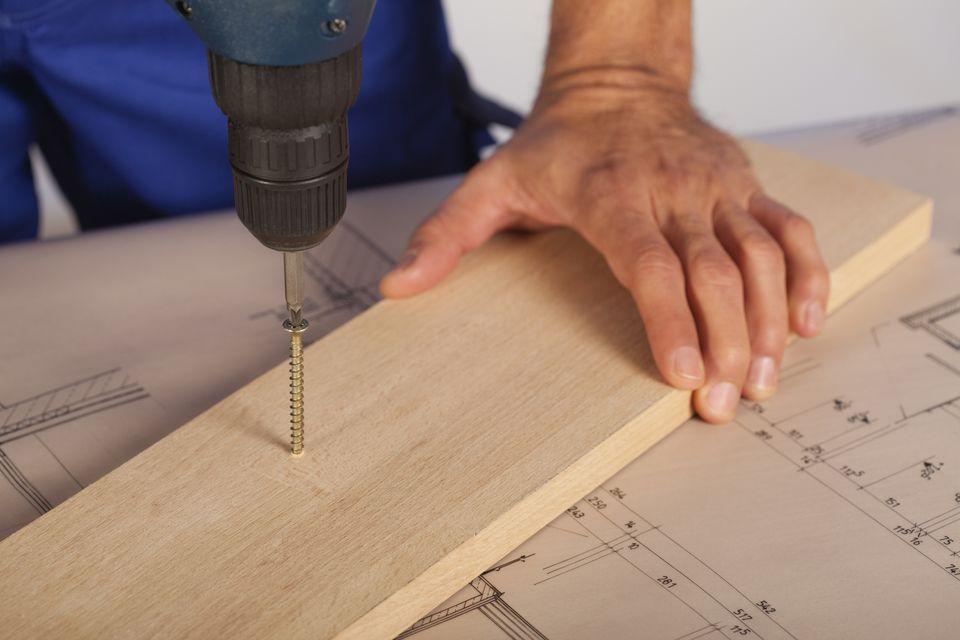 Woodworking screw