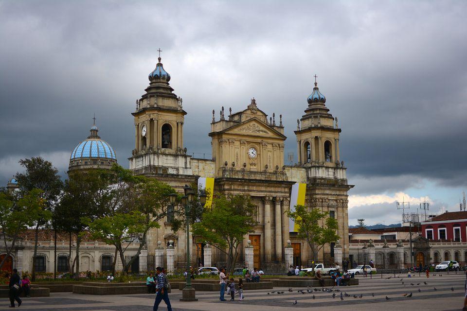 Guatemala City - Plaza de la Constitucio