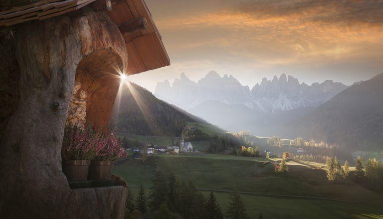Funes Dolomites, Italy