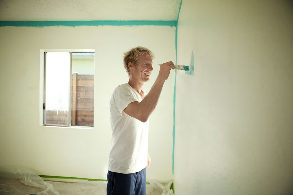 Home Wall Painting how to paint vinyl mobile home walls like a pro