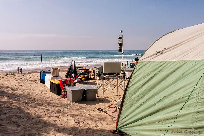 new brighton state beach camping near santa cruz