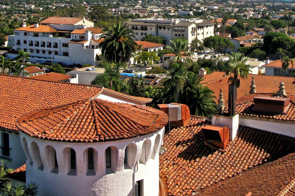 Red Tile Walking Tour Santa Barbara Ca
