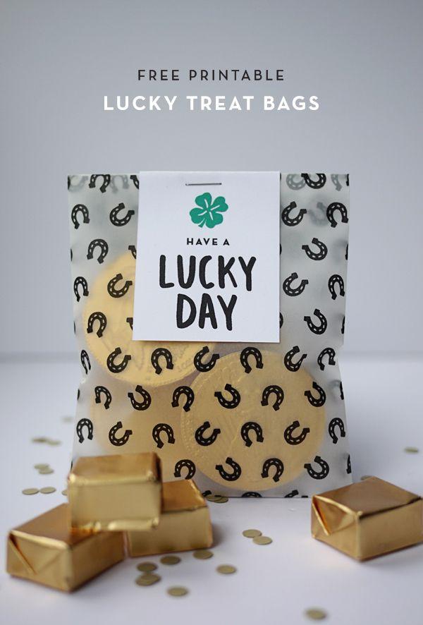 DIY St. Patrick's Day Treat Bag