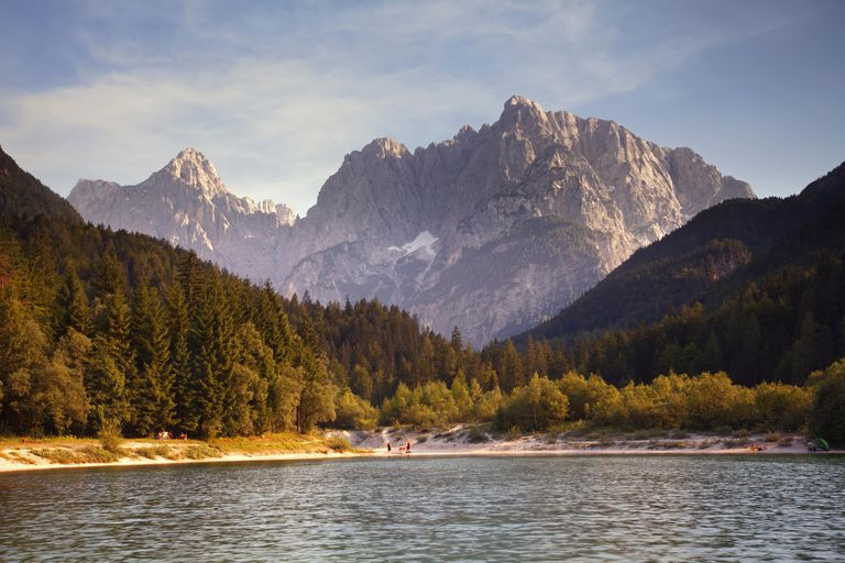 Julian Alps, Slovenia. These mountains were formed during the Alpine Orogeny.