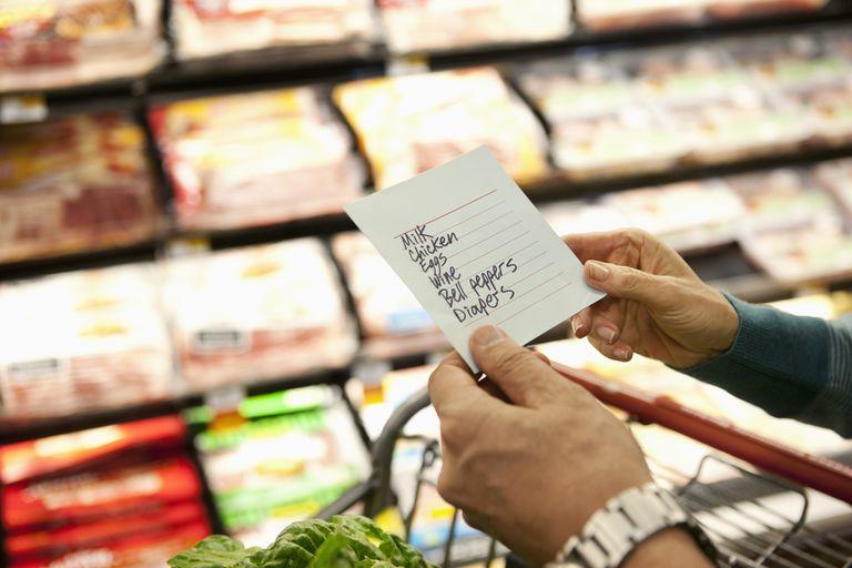 Chunking a shopping list