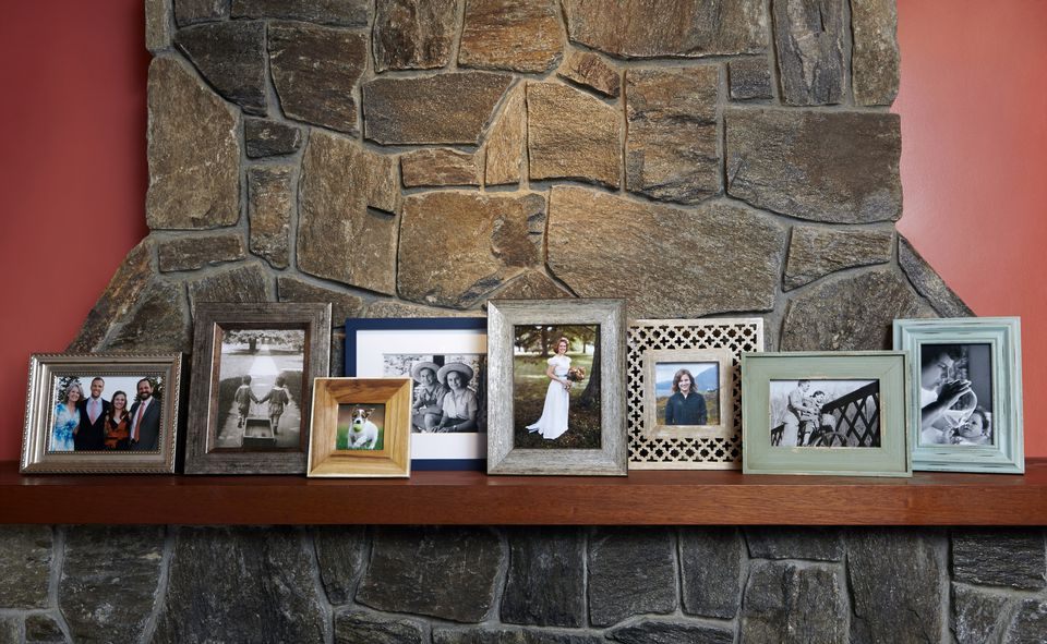 photos on mantle