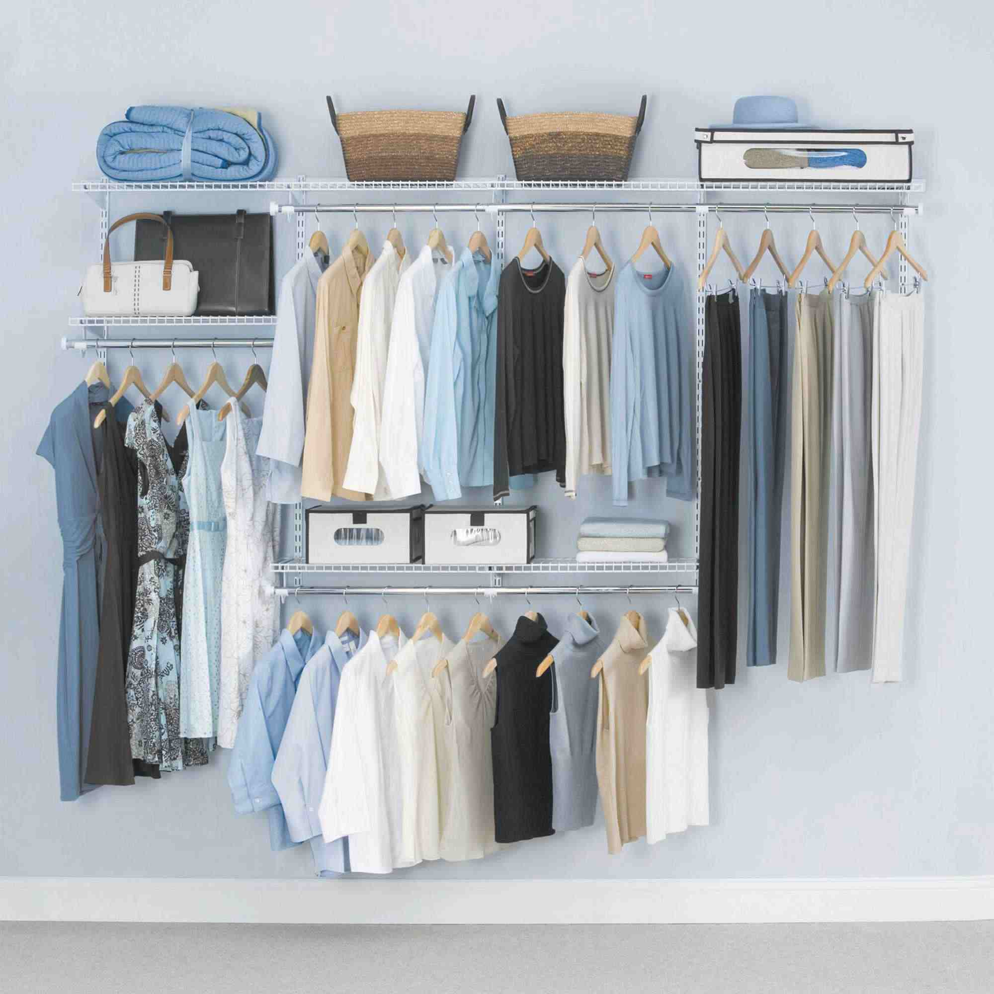 stock storage choosing video woman closet clothes videoblocks fashion wardrobe footage hangers y p