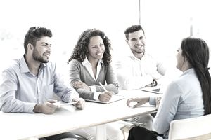 Group job interview