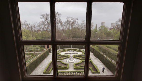 The Rear Gardens of Kew Palace