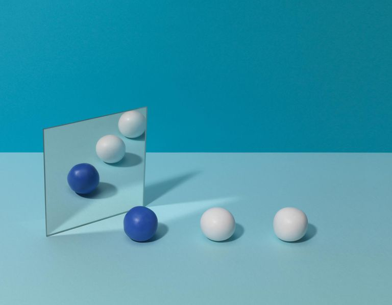 Blue Balls and Mirror