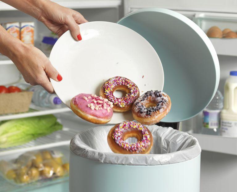 Throwing away donuts