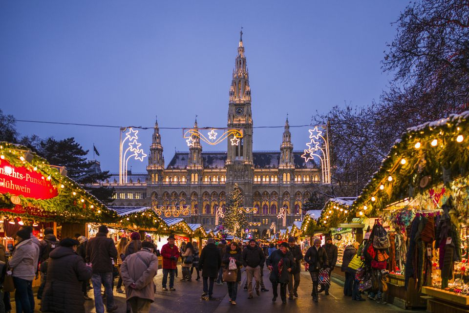 The Rathausplatz Christmas Market in Vienna