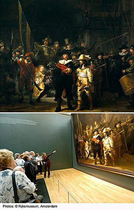 Night Watch -- famous painting by Rembrandt