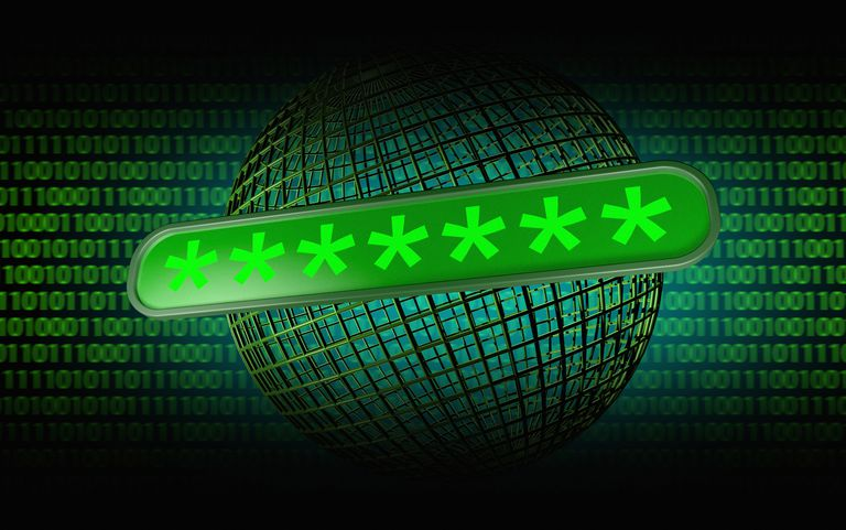 Hidden Password or Code on a Login Screen