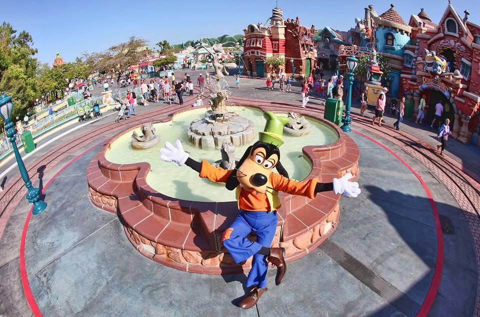 "Getting ""Goofy"" in Disneyland's Toontown"