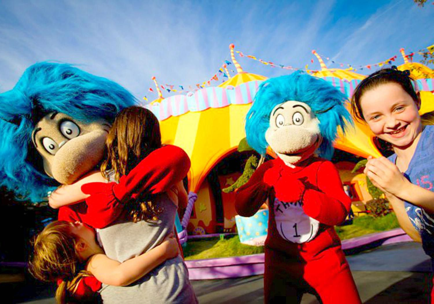 Seuss Landing: Fun for Little Kids at Universal Orlando Universal Themes In Literature For Kids