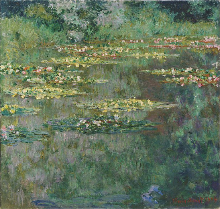 20 pinturas de nen fares de claude monet for Pintura para estanques
