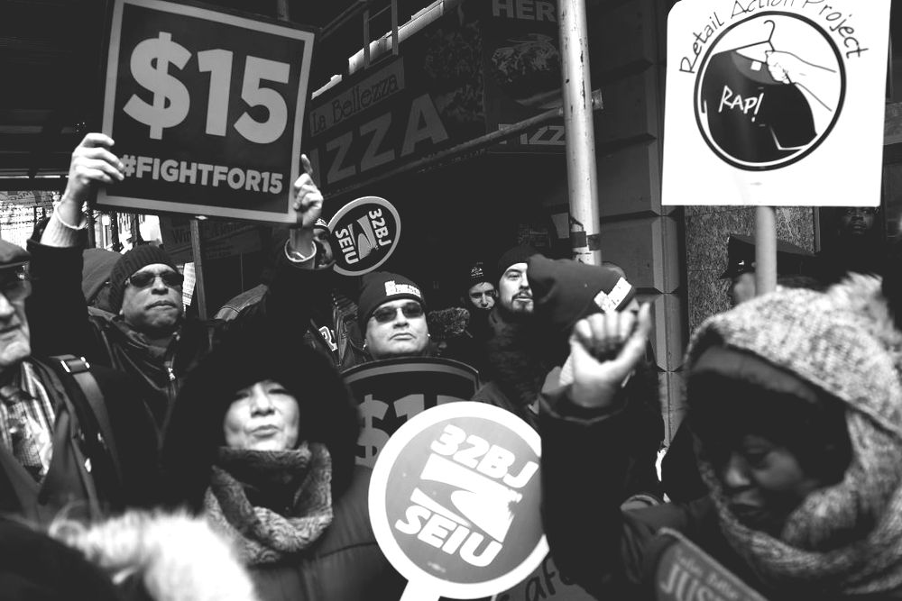 NYC Fast Food Workers Join Nationwide Protests Against Puzder Nomination
