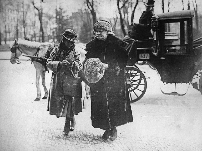 Clara Zetkin, impulsora del Día Internacional de la Mujer.