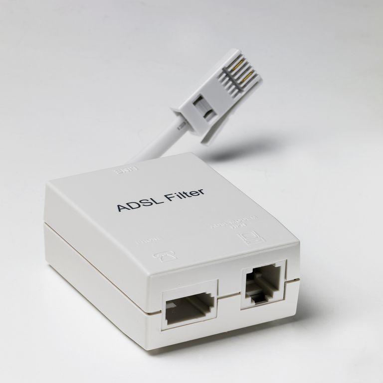 ADSL filter, studio shot