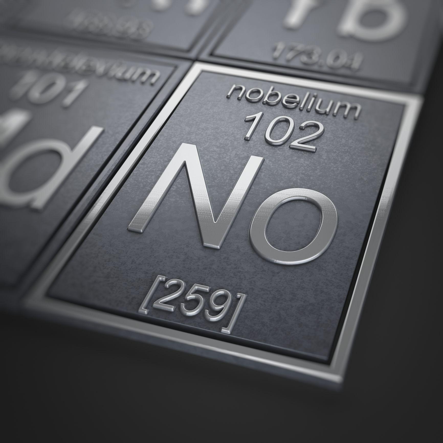 Nobelium facts no element buycottarizona