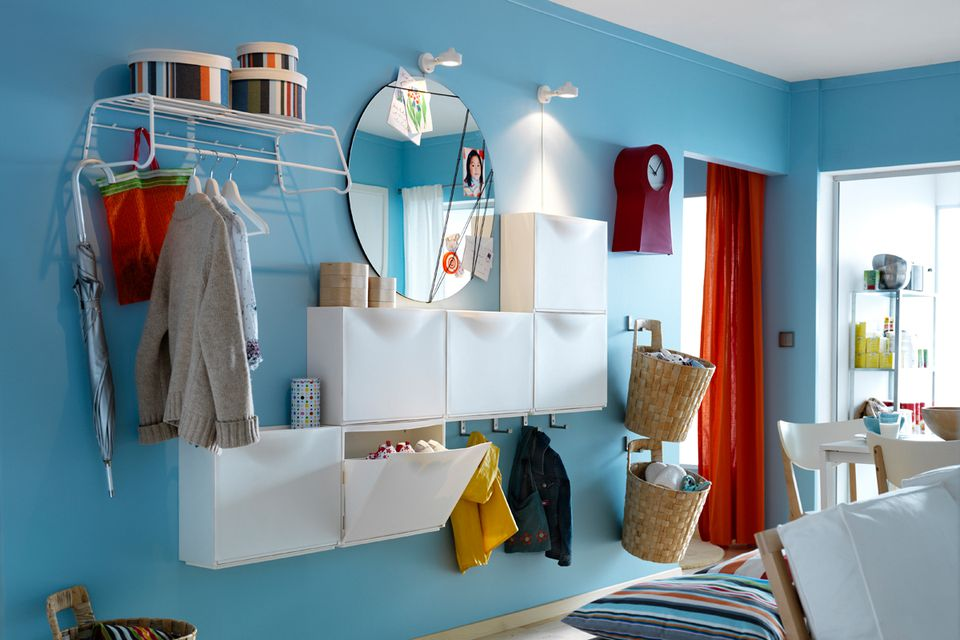 How to use ikea shoe cabinets to hack more storage - Ikea small space solutions collection ...
