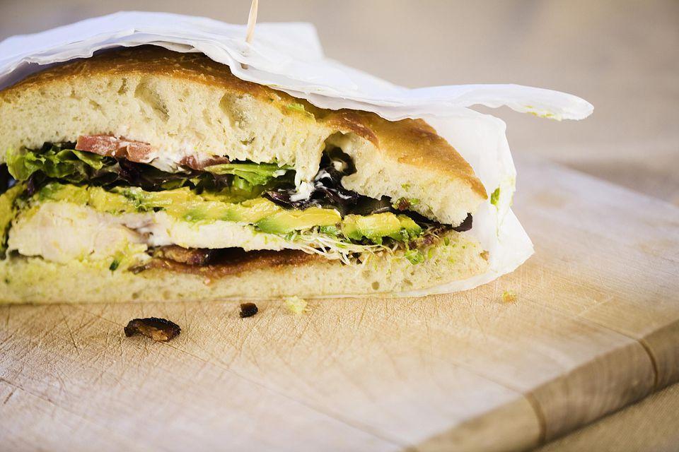 Tuscan Chicken Sandwiches