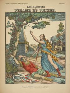 Image ID: 1562027 Les malheurs de Pirame et Thisbé. [The sorrows of Pyramus and Thisbe.] (1925)