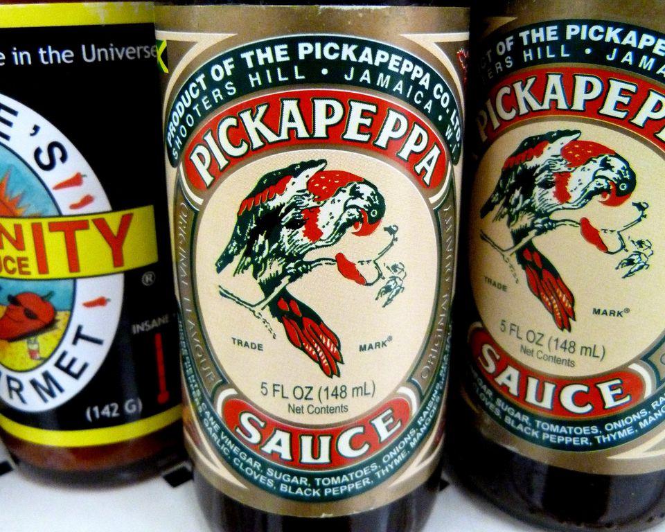 Pickapeppa hot sauce