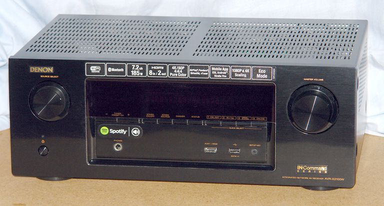 Denon AVR-X2100W Home Theater Receiver - Photo - Front View