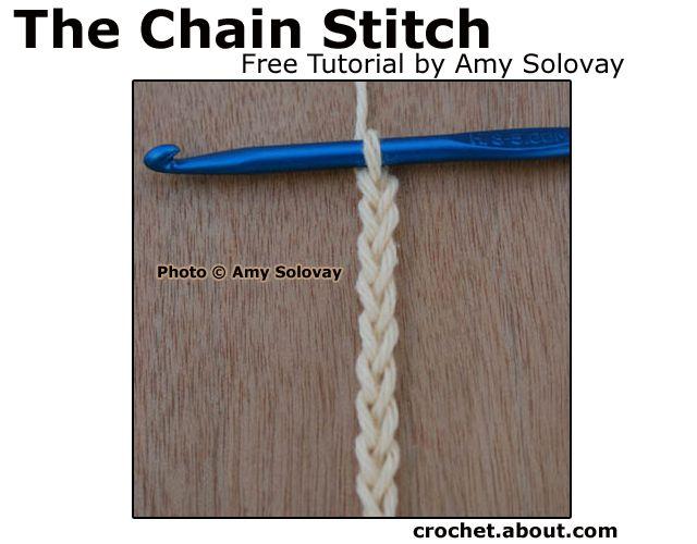 Basic Crochet Stitches -- The Chain Stitch