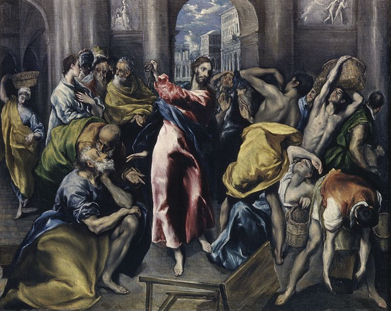 Jesus Cleanses the Temple of Moneychangers
