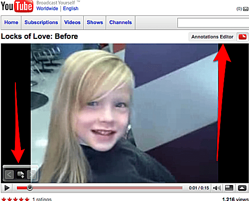 YouTube Quick Annotation