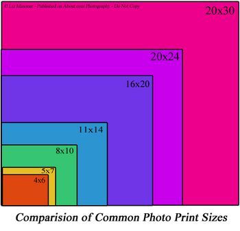 Image Print Size Relationship To Camera Viewfinder