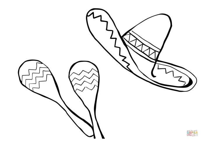 167 Cinco de Mayo Coloring Pages That Are Free to Print